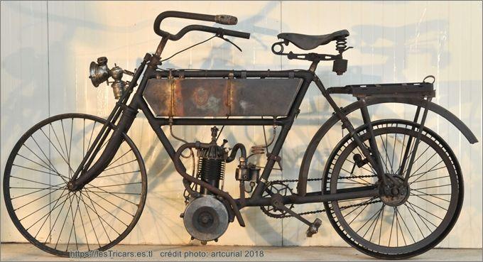 moto Simonet à moteur Buchet