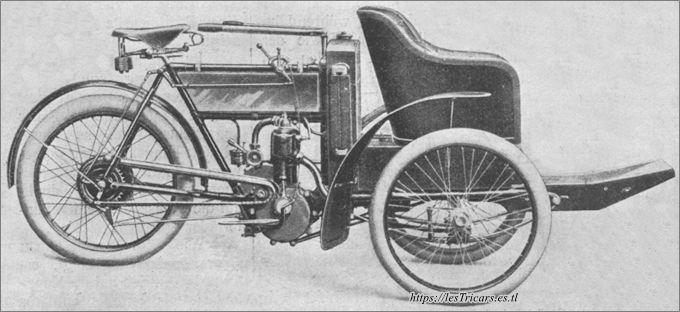 mototri Contal, modèle 1906