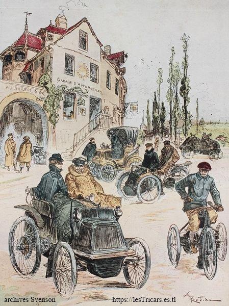 voiturettes et mototricycles