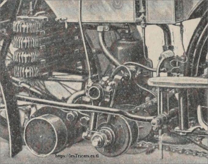 tricar L'Idéal, moteur monocylindrique Buchet