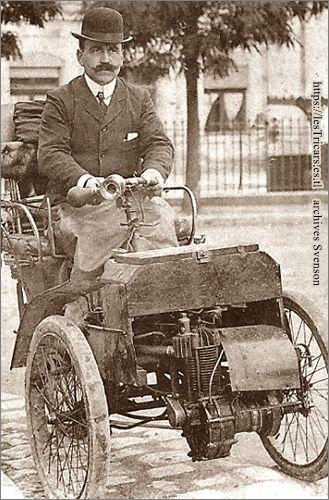 trivoiturette-porteur à moteur De Dion-Bouton