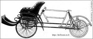 dessin d'un châssis de tricar