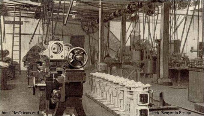 Les Ateliers d'Ivry, intérieur de l'usine