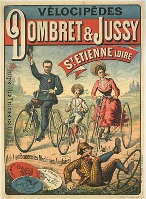 affiche Dombret et Jussy, Saint-Etienne