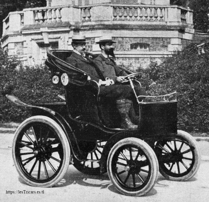 La voiturette Electricia, 1901