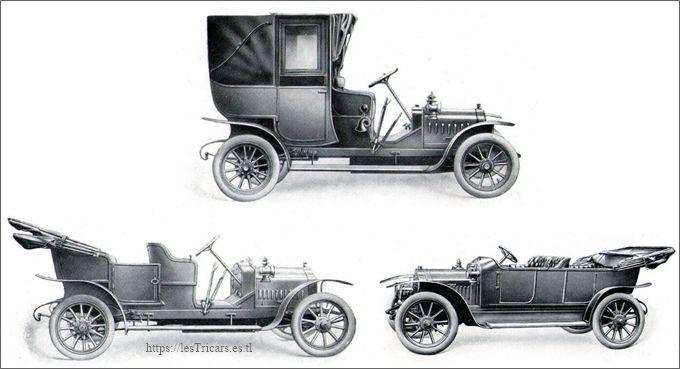 voiturettes Stimula, de la Chapelle, 1910