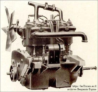 Ivry, le moteur 12 HP