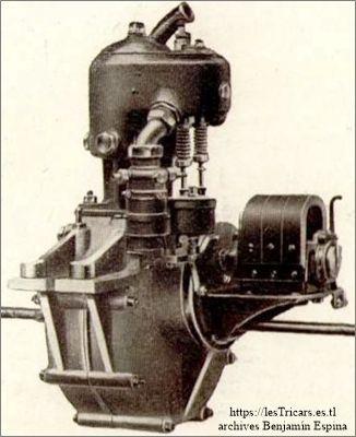 Ateliers d'Ivry, moteur 9 HP