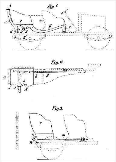 Werner, suspension pour voiturettes