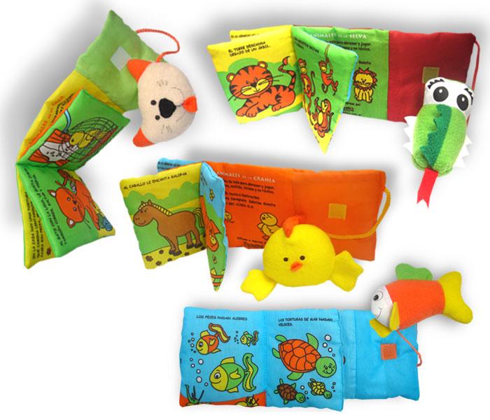 Libros did cticos infantiles colecci n libros de tela - Telas con dibujos infantiles ...