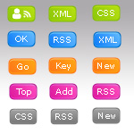 Renkli Web Butonlarıi