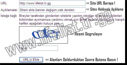 Google'a Site Eklemek / Google Add URL