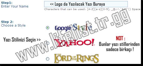 Funny Logo Oluştur / Create Funny Logo