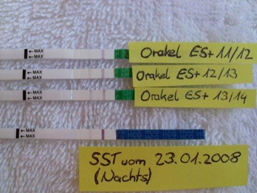 orakeln mit ovulationstest morgenurin