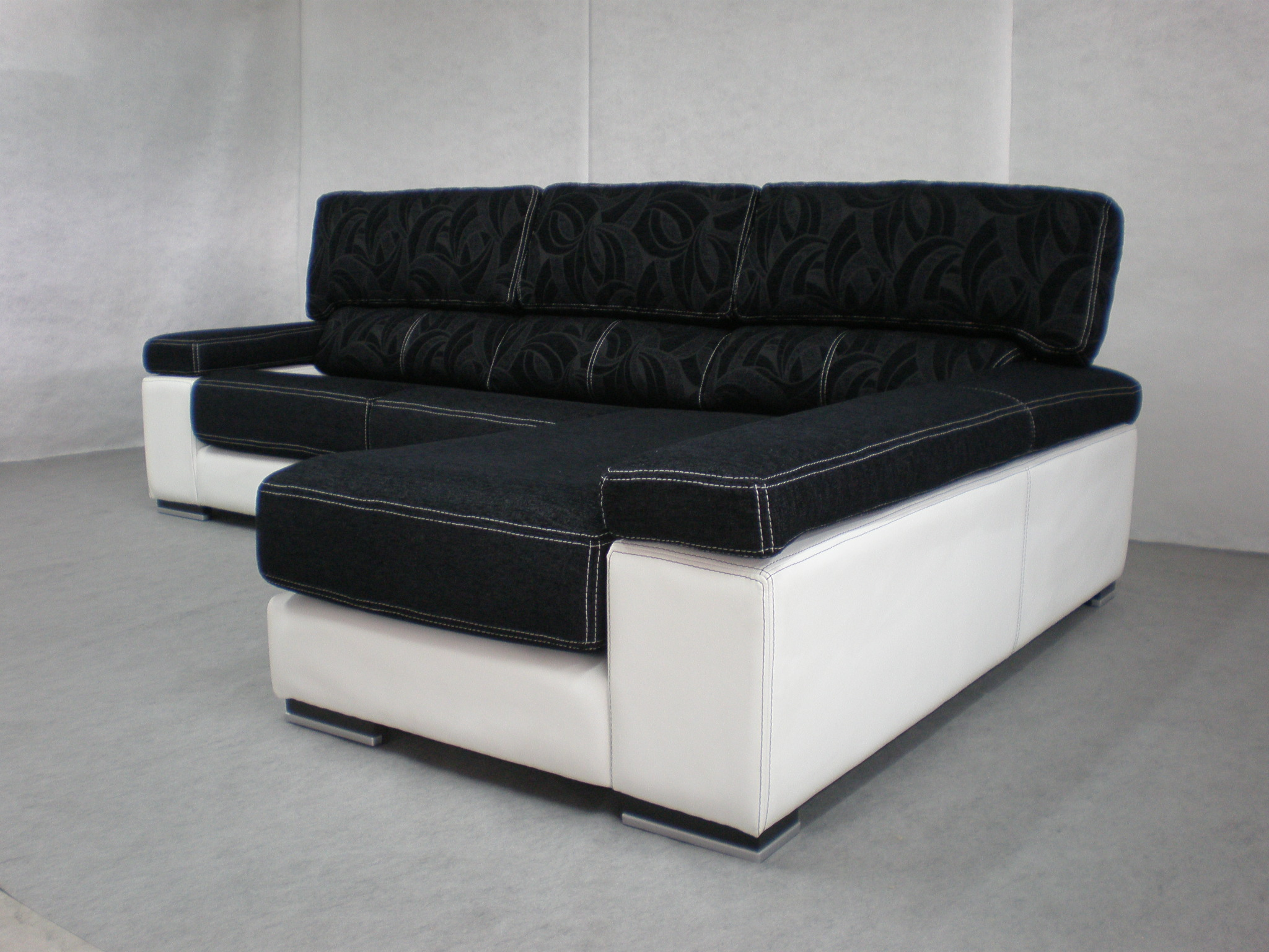 Sharon el m s vendido - Sofa blanco polipiel ...