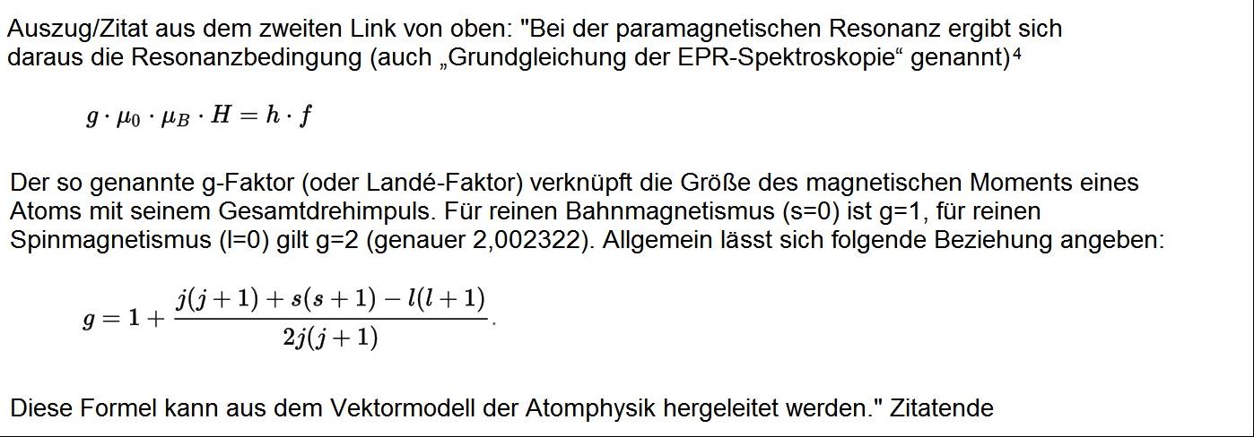 Wikipedia beschreibt eine Formel aus der Seite über die Larmorpräzesson