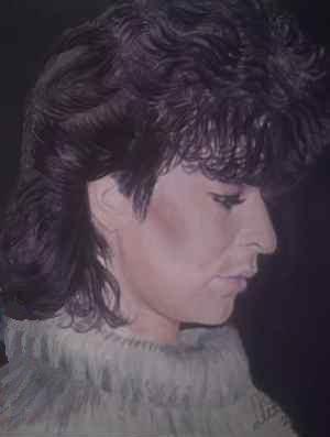 Bildtitel: Beate, gemalte Portraits, Lisa Wenderoth als Künstlername, Elisabeth Becker-Schmollmann