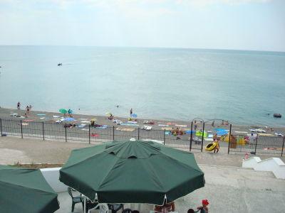 Пляж и спокойное море