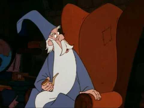 Los dibujos de una vida  Merlin el Encantador