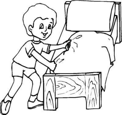 A vv plaza de los dolores nuevo fichas y dibujos for Cuarto ordenado animado