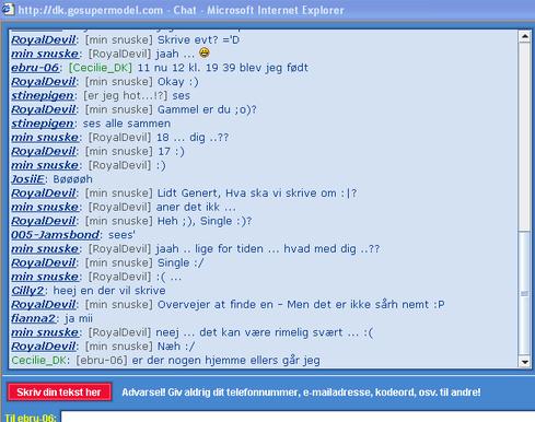 love chat chatten