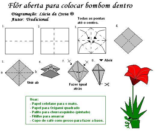 Origami Facil Flor