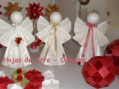 Hojas de arte origami vidrieras for Utilisima decoracion del hogar