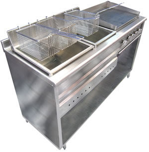 Luffanltda muebles para comidas rapidas for Mesas para negocio comidas rapidas