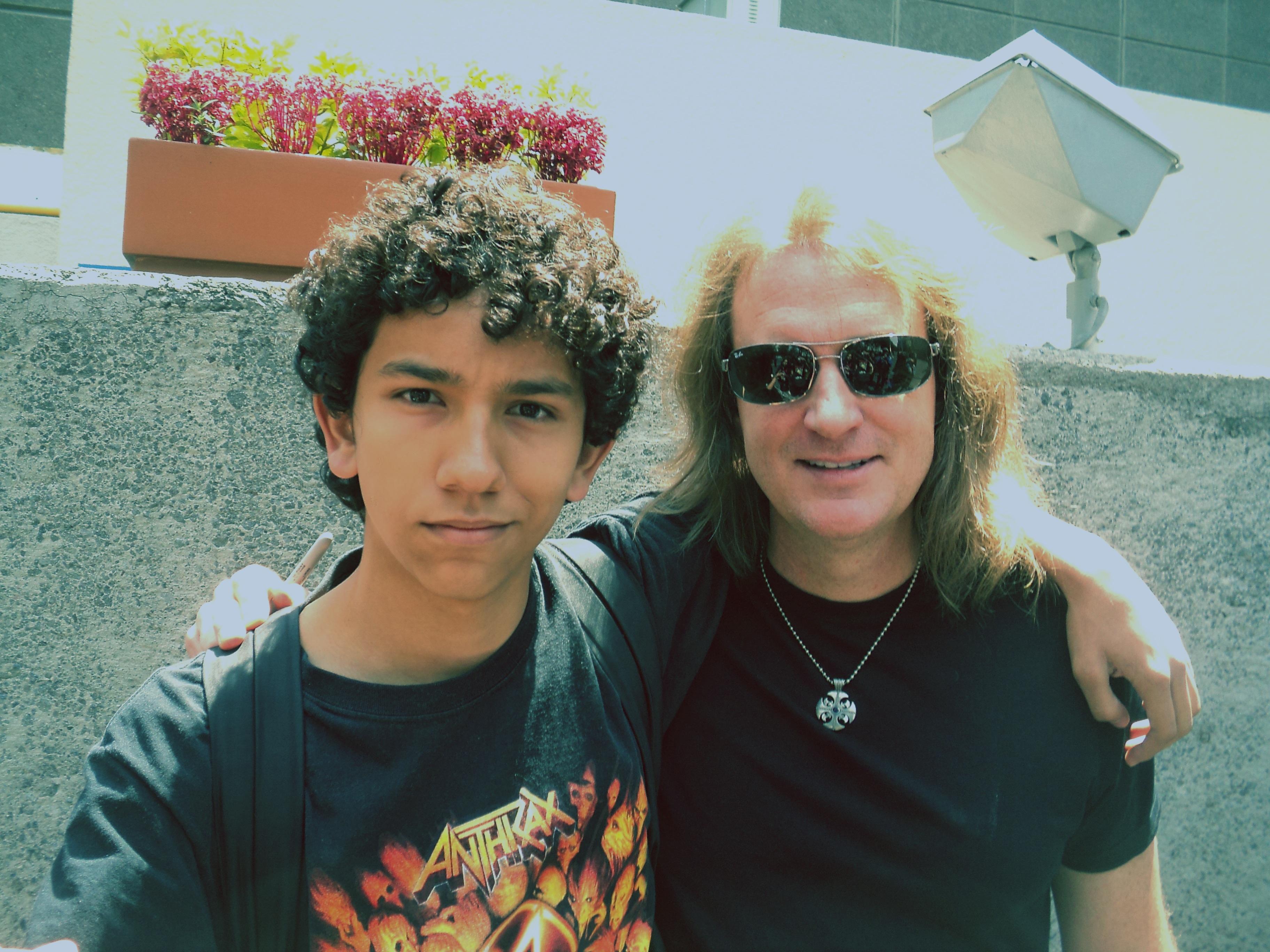 Con David Ellefson