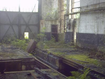 Ein ehemaliger Arbeitsplatz