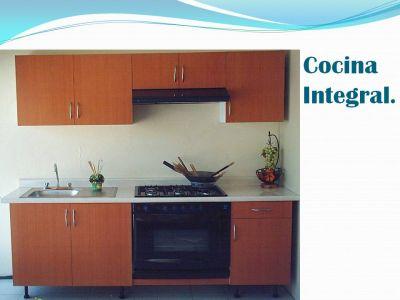 Madera espacios cocinas Cocinas integrales en espacios pequenos