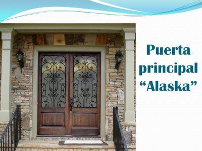 Madera espacios puertas for Puertas principales de vidrio