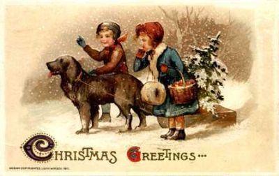 Nostalgische Weihnachtsbilder.Maggys Buechlein 2