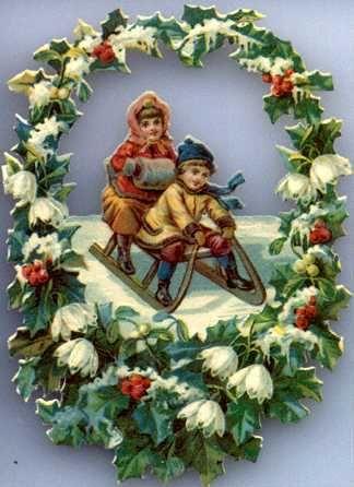 nostalgische weihnachtsbilder kostenlos
