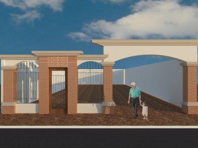 Dise o arquitectonico cavi renders conceptuales for Ladrillo decorativo exterior