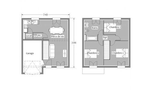 plan maison kerbea