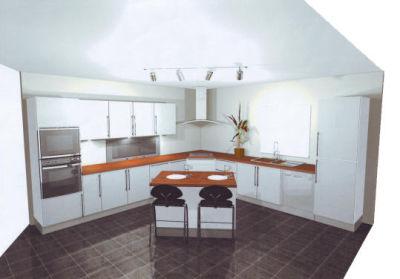 decoration moderne photo cuisine. Black Bedroom Furniture Sets. Home Design Ideas