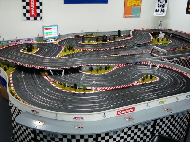 Slot Car Race Track