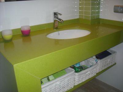 Lavabo Verde Pistacho.Encimera De Bao Para Lavabo Free Latest Gallery Of Amazing
