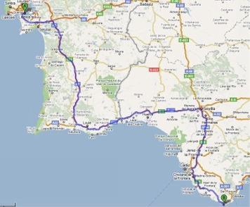 tarifa espanha mapa Plano viagem tarifa espanha mapa