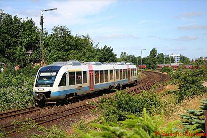 VT306 verlässt Husum