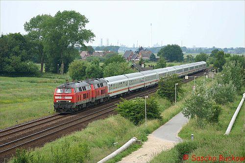 Einfahrt Meldorf
