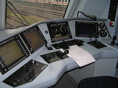 Führerstand BR 146