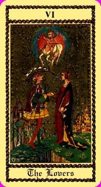 Significato dei Tarocchi Gli Amanti Arcani Maggiori come leggere i Tarocchi Gli Amanti Arcani Maggiori Interpretazione dei Tarocchi Gli Amanti Arcani Maggiori Lettura Tarocchi Gli Amanti Arcani Maggiori