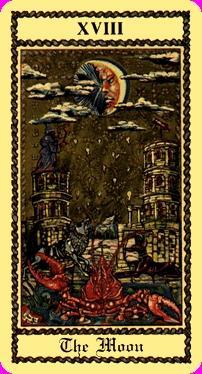 Significato dei Tarocchi La Luna Arcani Maggiori come leggere i Tarocchi La Luna Arcani Maggiori Interpretazione dei Tarocchi La Luna Arcani Maggiori Lettura Tarocchi La Luna Arcani Maggiori