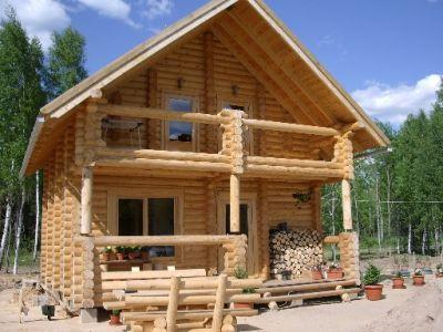 Master construcciones modelos caba as for Traditional log cabin plans