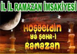 Türkiye Diyanet ramazan imsakiyesi