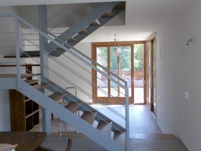 Mavic carpinteria escaleras de madera for Escaleras de metal y madera