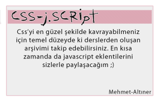 MehmetAltinerCss