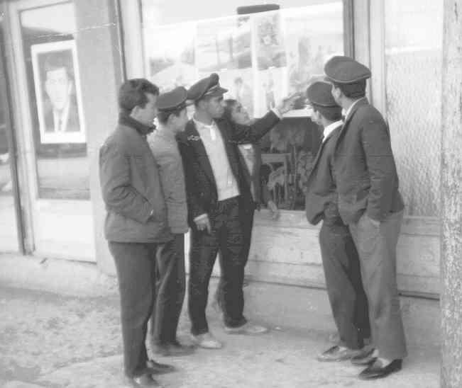 Adıyaman'da Sokak Sergisi 1964